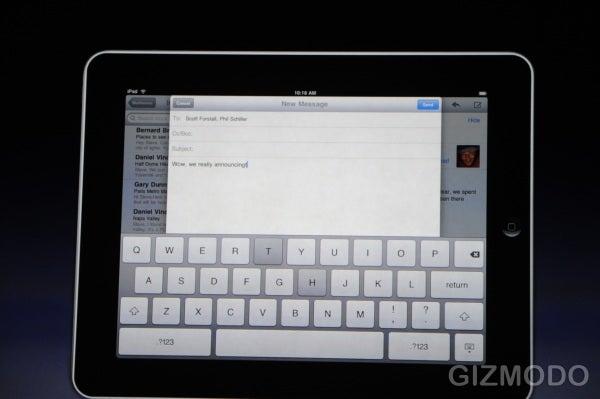 Apple Introduces The iPad