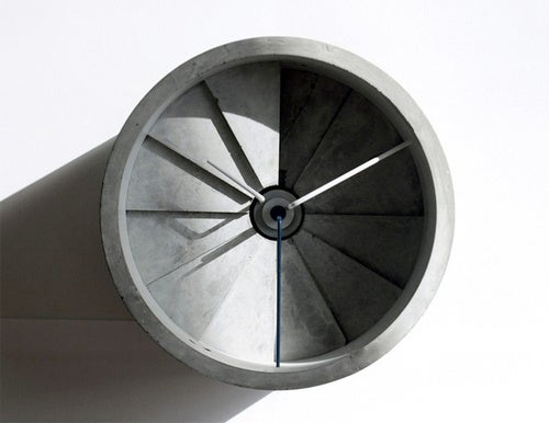 Is This a Clock, or a Concrete Jet Engine?