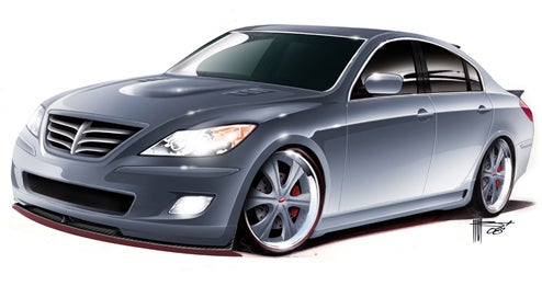 RKSport Hyundai Genesis To Show Off Maximized Performance At SEMA