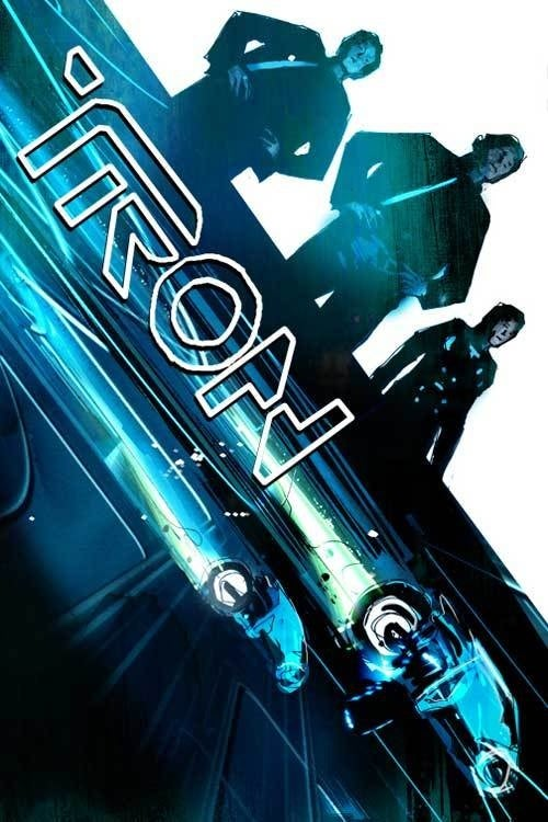 One of the greatest Judge Dredd artists reimagines the world of Tron