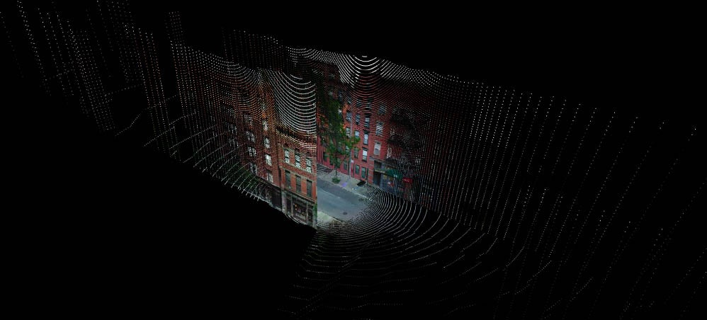 See Your City Like a Hazy Point Cloud from Another Dimension