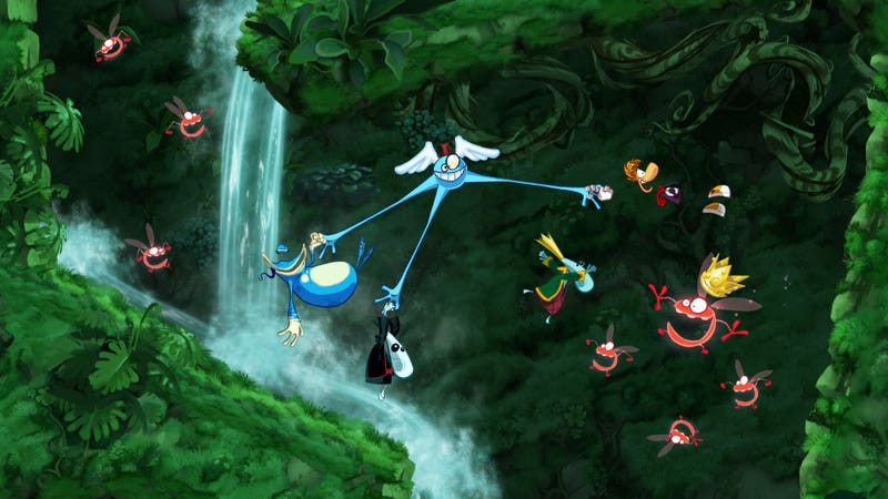 Rayman Origins Looks Like a Slapping Good Time