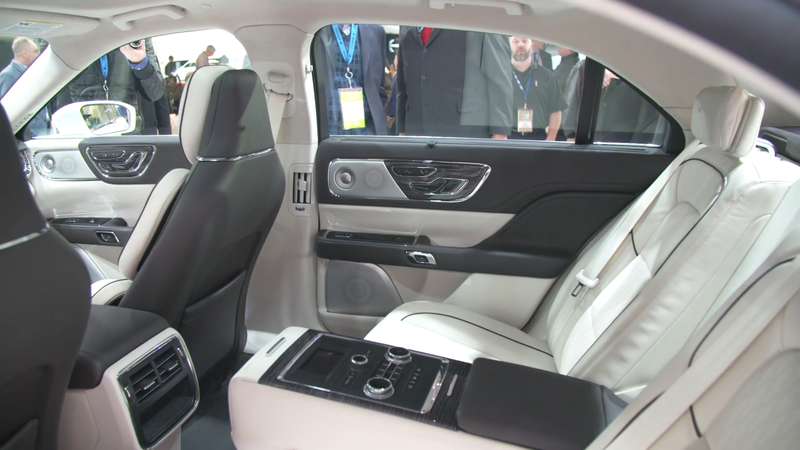 Is The New Lincoln Continental The Most Luxurious Sedan From The Back Seat?