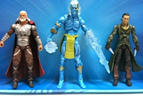 First look at the Frost Giants from Marvel's Thor