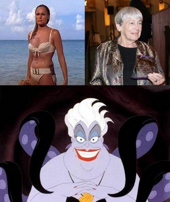 U Is For Ursula, Who's Due For A Comeback