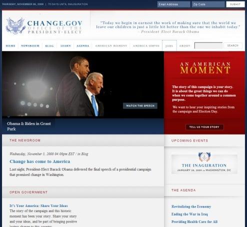 New Obama Website America's Last Hope For Job