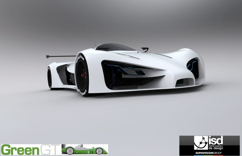 GreenGT Electric LeMans: Design And Eco-Mobility Madness