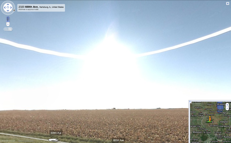 God Caught on Google Street View Giving the World a Hug