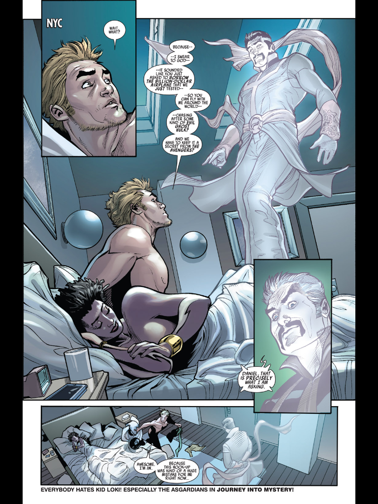 Magic Sex, Underwater Vomit and Heart-Punching: Why Defenders #1-4 Works