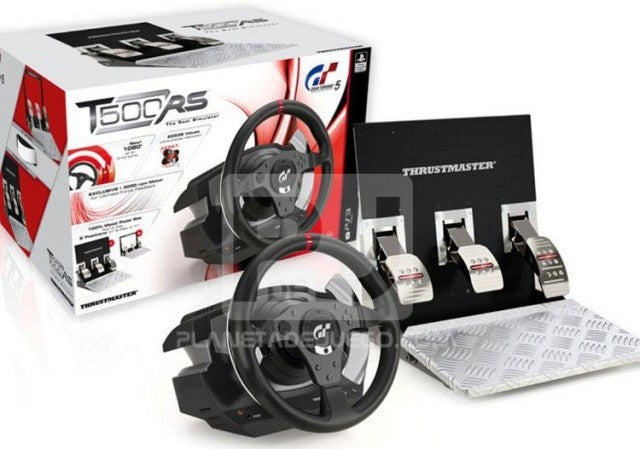 Thrustmaster's T500RS Is the Official Gran Turismo 5 Steering Wheel Controller
