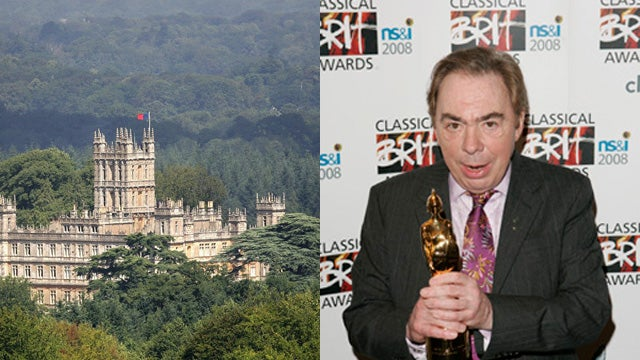 Andrew Lloyd Webber Wants to Buy Downton Abbey, is Being a Real Dick About it