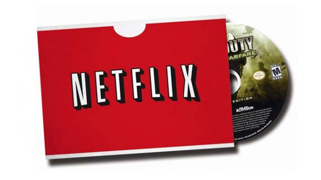 Netflix Ditches Video Game Rentals