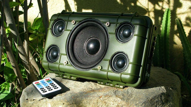 Build Your Own Heavy Duty Bluetooth Speaker