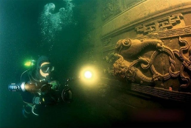 Your Next Scuba Destination Is An Entire Drowned City in China
