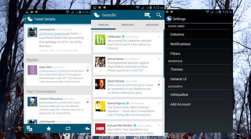 Tweedle Makes Twitter Simple, Stable and Beautiful for Free