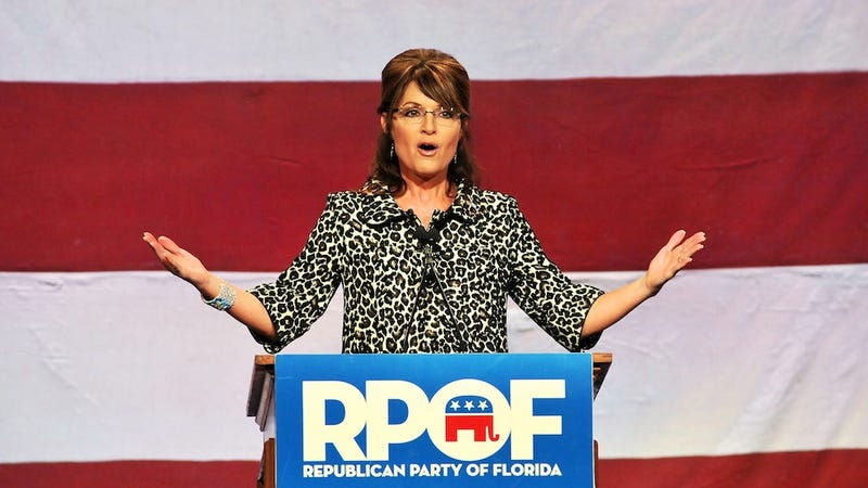 People Still Donating Hundreds of Thousands of Dollars to Sarah Palin, For Some Reason