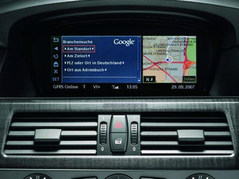 BMW Officially the First Car With Google Search