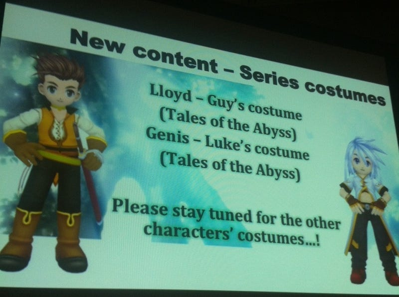 """Tales Of"" At NYCC (New Xillia 2 Trailer, Symphonia CE And More)"