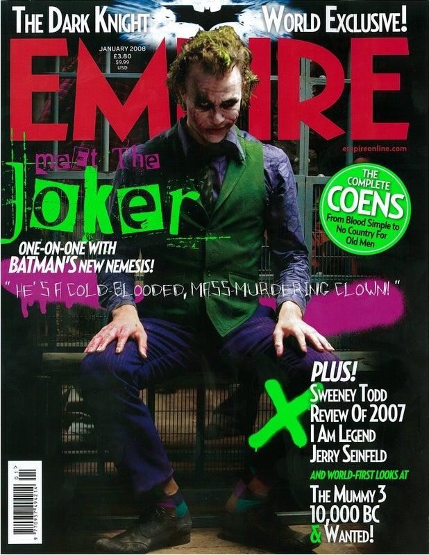 Full Frontal Joker — All Is Revealed
