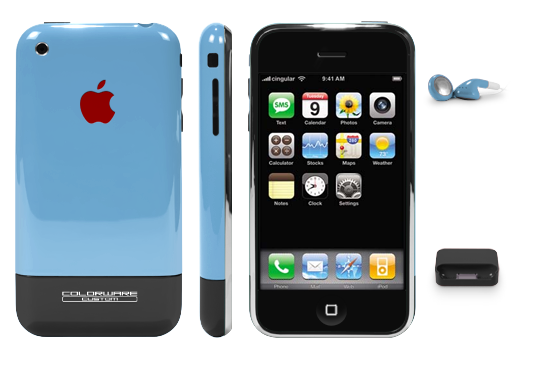 Colorware Colors Up iPhones in Style