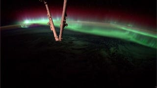 We'll Never Be Tired of Auroras From Space