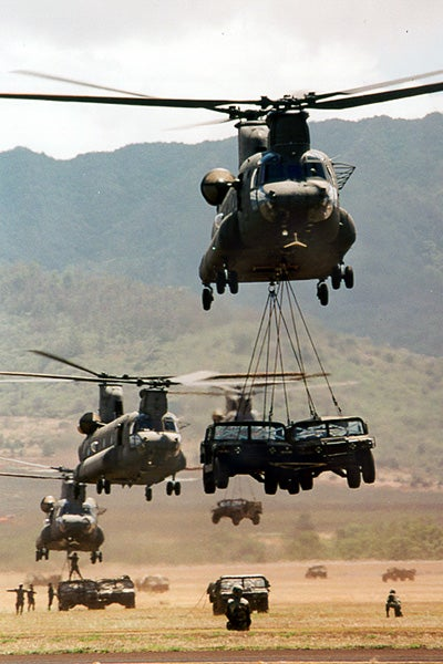 Will A Humvee Fit Inside A CH-47 Chinook?
