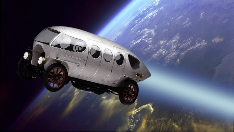 Alfa Romeo Built A Spaceship Before We Ever Went Into Space