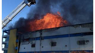 Seven-Alarm Fire Burning in Williamsburg