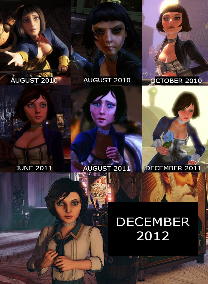 The Original Mute Version of Elizabeth From Bioshock Infinite