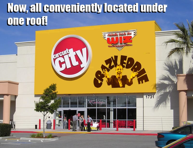 We Help Out a Failing Circuit City in with Some Smartass Fake Ads