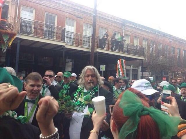 Rob Ryan Is Having The Best St. Patrick's Day Weekend