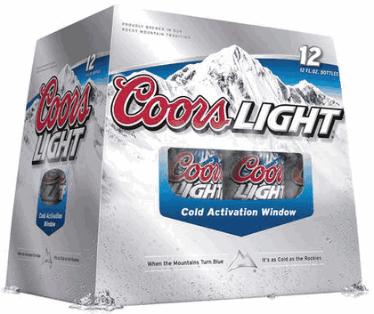 Coors Light Invents Cold Activation Window: Cancer Cured, World Peace Ensues