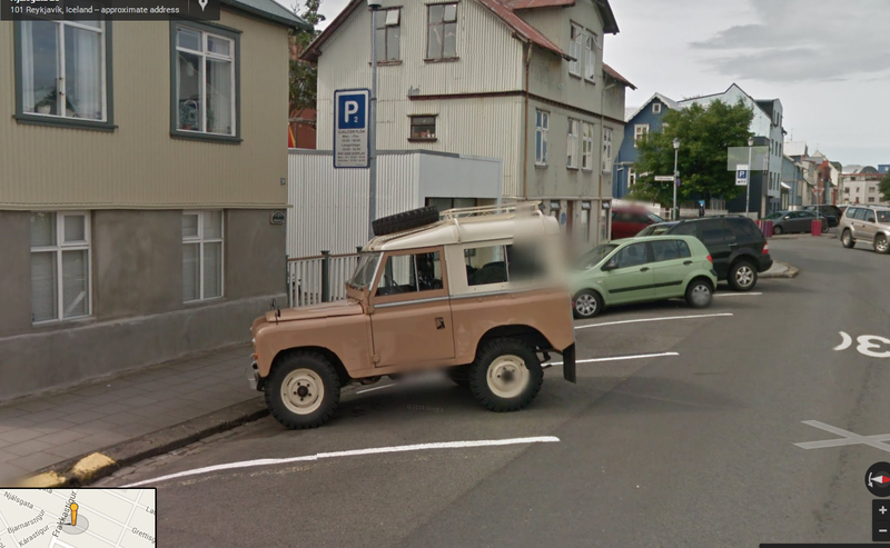 Coolest Car In A Random Ass Town: Reykjavik: (Iceland)