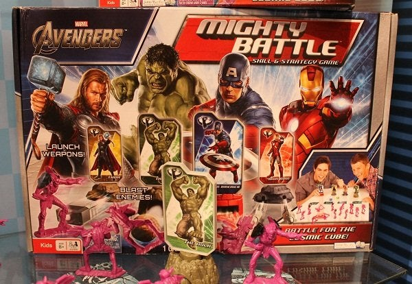 Has the Avengers board game revealed the movie's enemy soldiers?