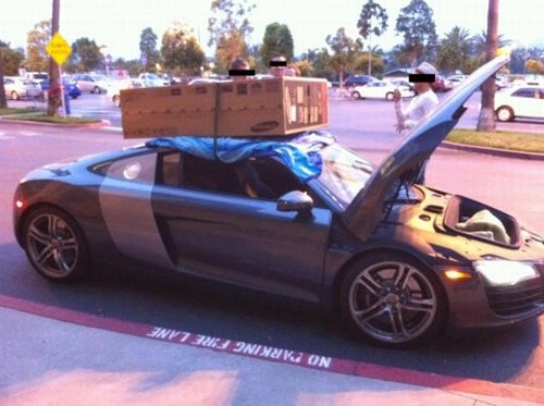 FYI: The Audi R8 Is Not A Truck