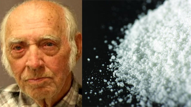 87-Year-Old Man Busted with a Shit Ton of Cocaine