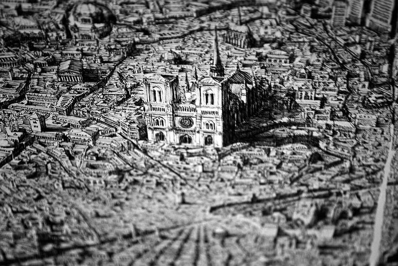 Insanely detailed illustrations of megacities