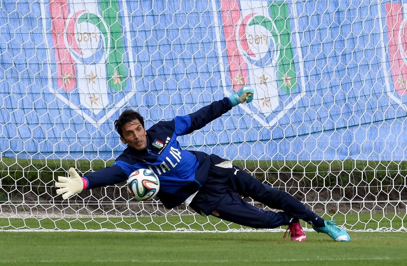 Italy To Play England Without Goalkeeper And Captain Gianluigi Buffon