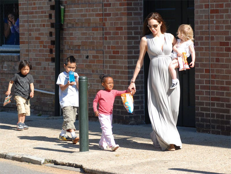 Angelina Jolie Keeps The Kids In Line With Processed Foods