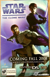 Clone Wars Title For Wii, DS In The Fall