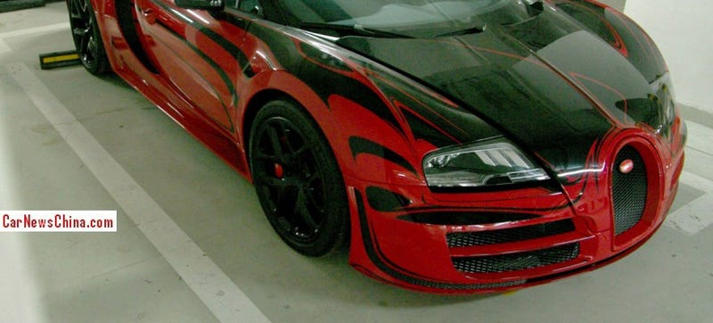 Why Is This Mystery Bugatti Veyron Gathering Dust In A Chinese Garage?