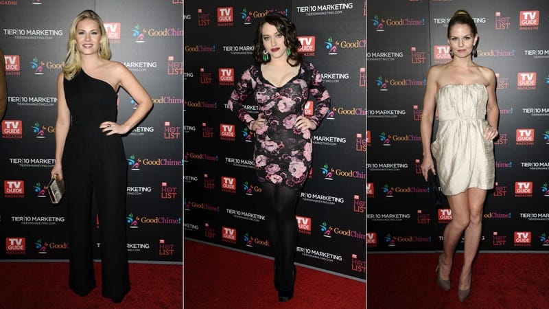 Your Fave Boob Tube Stars Were Sparkly, Sweet & Sexy At The TV Guide Party