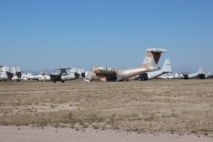 Tucson / AMARG 309th Boneyard 5k (in pictures)