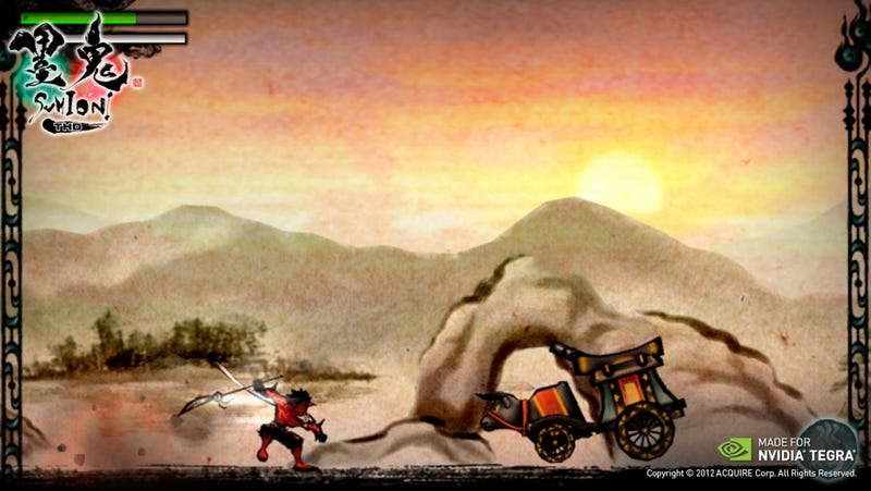Sumioni and Razor Salvation Enter the Tegra Zone