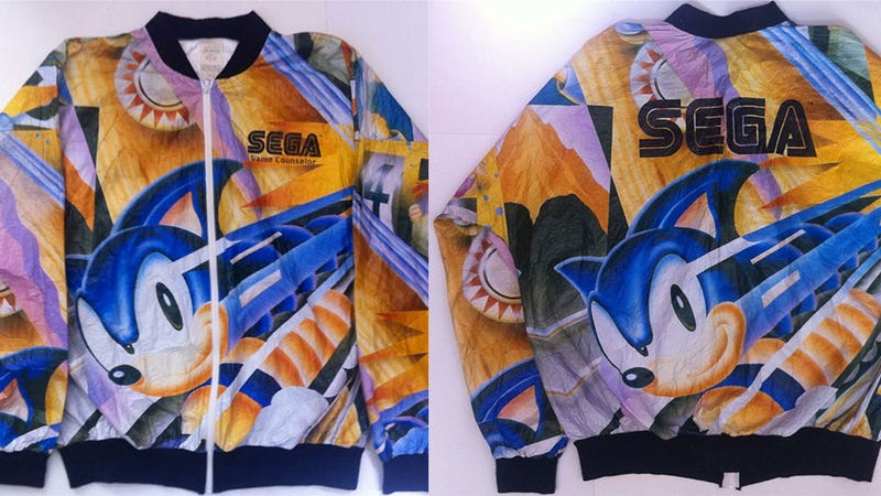 Your Eyes Are Not Ready For This Hideous Sega Jacket
