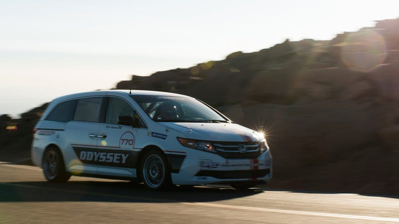 This is the Honda Odyssey that you want.