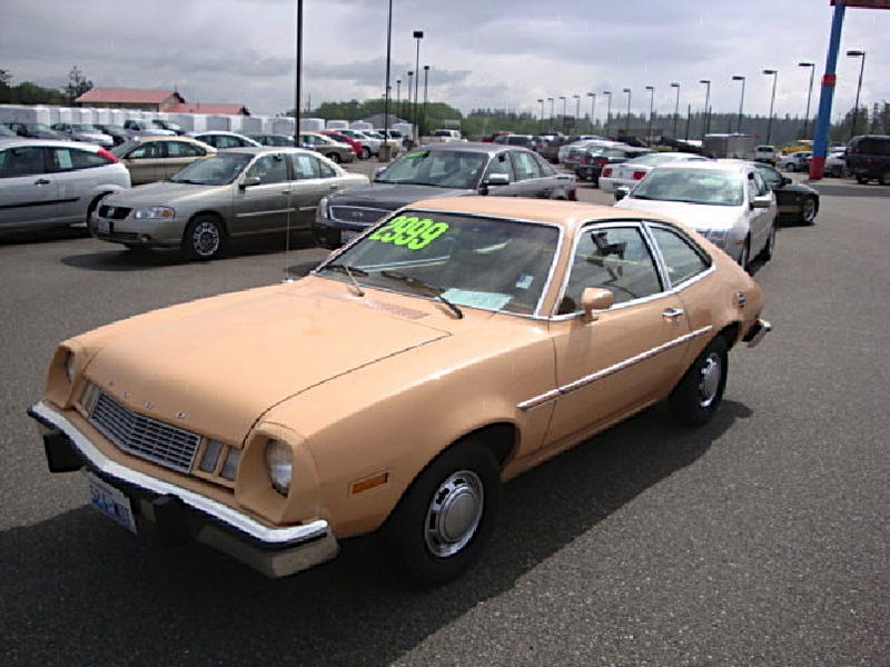 Flesh-Colored 1978 Pinto for a Stiff $2,999!