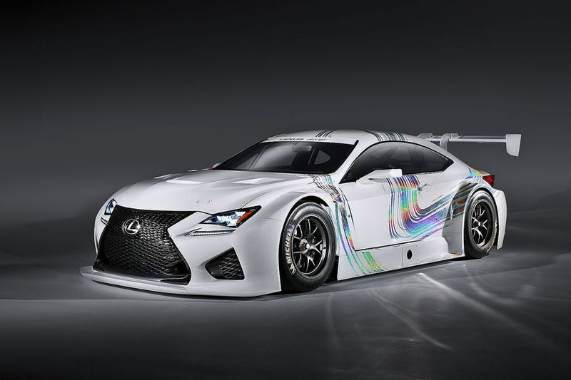 Lexus RC F GT3: Looks Great Or Looks Awful?
