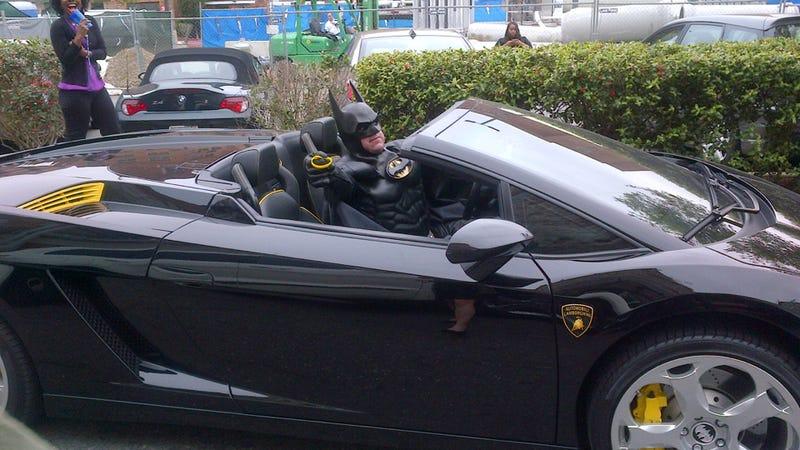 'Lamborghini Batman' Was At Georgetown Last Week