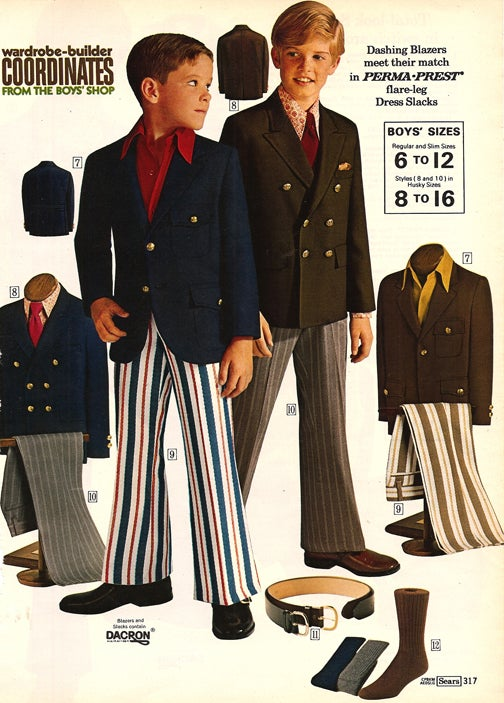 The Best Sears Kids' Fashions For Spring… Of 1972